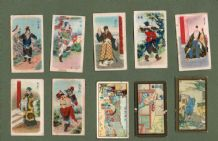 Collectable  CHINA cigarette cards Chinese tobacco inserts  #999